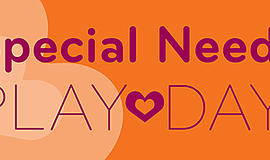 Promotional flier for The New Children's Museum Special Needs Play Day.