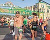 Promotional photo for the 2016 St. Patrick's Day Half Marathon, 5k, Green Mile & EC Craft Beer Invitational in Downtown El Cajon.
