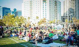 Promotional photo of Street Food Cinema in San Diego.