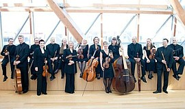 Photo of Tafelmusik Baroque Orchestra. Courtesy of La Jolla Music Society