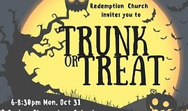 Promotional photo for Trunk or Treat.