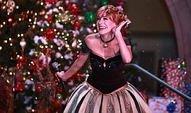 Promotional photo of a performer at the Holiday Tree Lighting and Winter Wond...