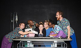"A photo of the cast of ""Well,"" courtesy of Diversionary Theatre."