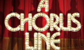 "Promotional graphic for ""A Chorus Line."""