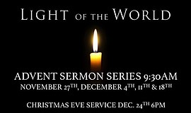 "Promotional flier for the ""Light of the World"" series."