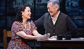 "A photo from ""Allegiance,"" courtesy of Fathom Events."