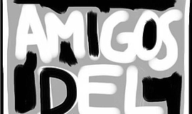 A logo for San Diego Rep's Amigos del REP program.