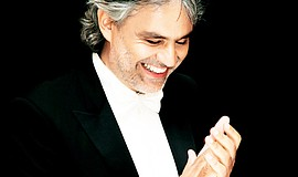 Promotional photo of Andrea Bocelli