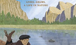 """Antsy Ansel: Ansel Adams, A Life in Nature"" book cover."