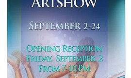 "Promotional flier for the ""September Chill"" opening reception at The Brokers ..."