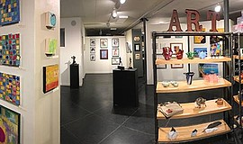 Promotional photo of The Studio Door gallery.