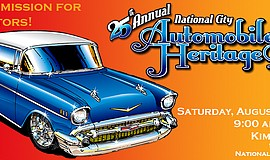 Promotional graphic for Automobile Heritage Day.