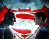 """Promotional graphic for """"Batman V Superman: Dawn of Justice"""""""