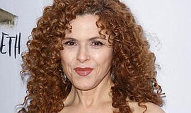 A photo of actress Bernadette Peters.