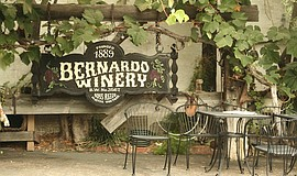 A photo of Bernardo Winery.