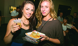 Participants at the annual San Diego CityBeat Night at the Besties.