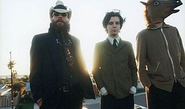 A photo of the band Three Mile Pilot.