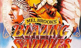 """Blazing Saddles"" movie poster."