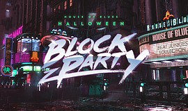 Promotional graphic for the House of Blues Halloween Block Party.