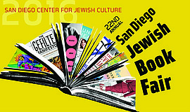 Promotional flier for the San Diego Jewish Book Fair that will run from Oct. ...