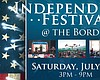 Promotional flier for the Independence Day Festival at the Border. Courtesy of San Ysidro Chamber of Commerce.
