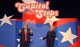 Promotional photo of Capitol Steps actors as presidential candidates. Courtes...