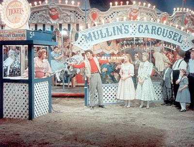 "A photo from the musical movie ""Carousel."""