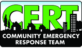 Promotional graphic for CERT.