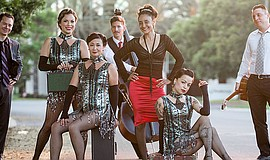 Promotional photo of The Cherries Jubilee.