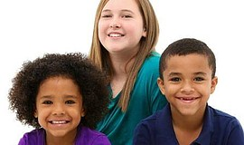 Photo of children. Courtesy of San Diego Center for Children.
