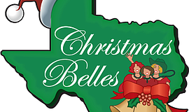 "Promotional graphic for ""Christmas Belles."""