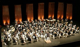 Promotional photo of the Coastal Communities Concert Band.