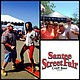 Promotional photo collage of community members celebrating at the annual Santee Street Fair and Craft Beer Festival. Courtesy of the Santee Chamber.