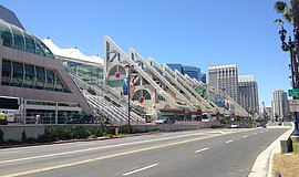 Photo of the San Diego Convention Center, where the 26th Annual Economic Summ...