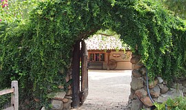 The entrance of Rancho Buena Vista Adobe.