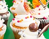 Promotional photo of cupcakes.