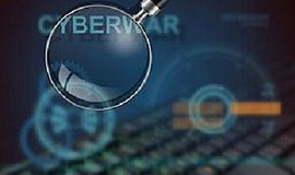 Promotional graphic for Cyber War.