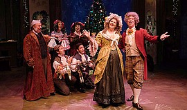 "A promotional photo of Cygnet's ""A Christmas Carol."""