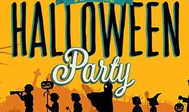 Promotional graphic for Halloween Daytime Party.