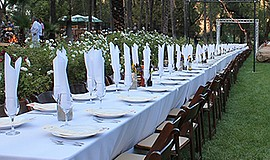 Promotional photo of a San Diego Grown Dinner table. This year's the dinner w...