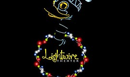 Promotional graphic for Lightwire's A Very Electric Christmas.