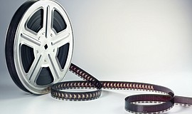A stock photo of a film reel.