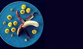 Promotional photo of a plate of food for the Food Waste Solution Summit. Cour...