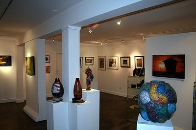 View of Gallery 21 exhibits.