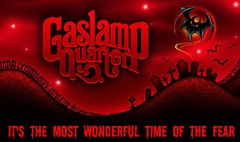 Promotional graphic for Halloween in the Gaslamp.