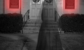 Promotional photo of the Davis-Horton House at Halloween. Courtesy of the Gas...