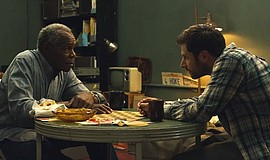 "Film still featuring Danny Glover as Bob and James Roday as Dan Schauble in ""..."