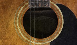 A guitar. Courtesy of Museum of Making Music.