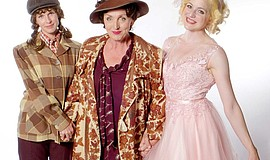 "A photo of Allison Spratt Pearce, Linda Libby and Katie Whalley Banville in ""..."
