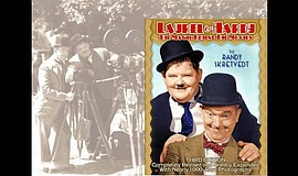 "Promotional photo and cover art for ""Laurel & Hardy: The Magic Behind the Mov..."